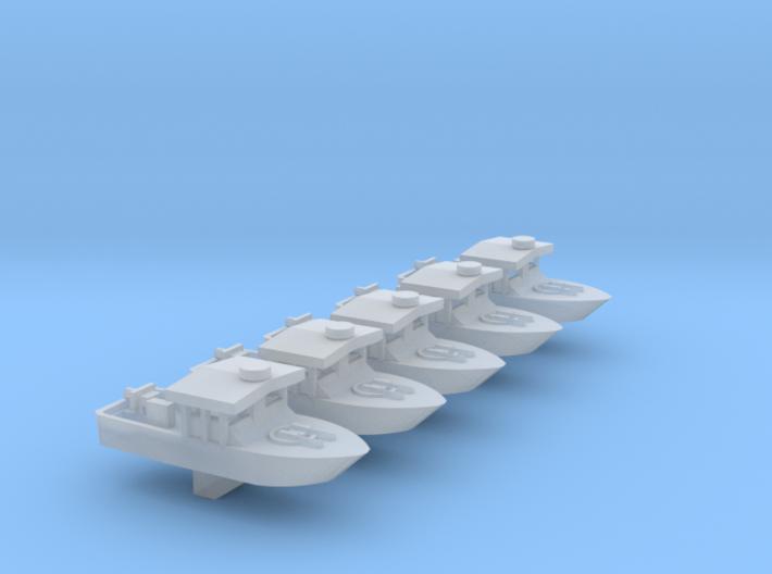 1/600 Scale Vietnam PBR Mk 1 X 5 Off 3d printed