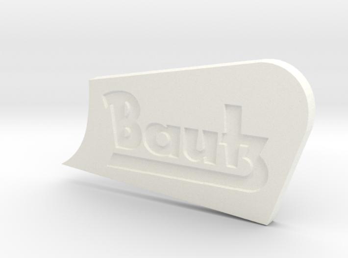 Bautz Traktor: Schlüsselanhänger 3d printed