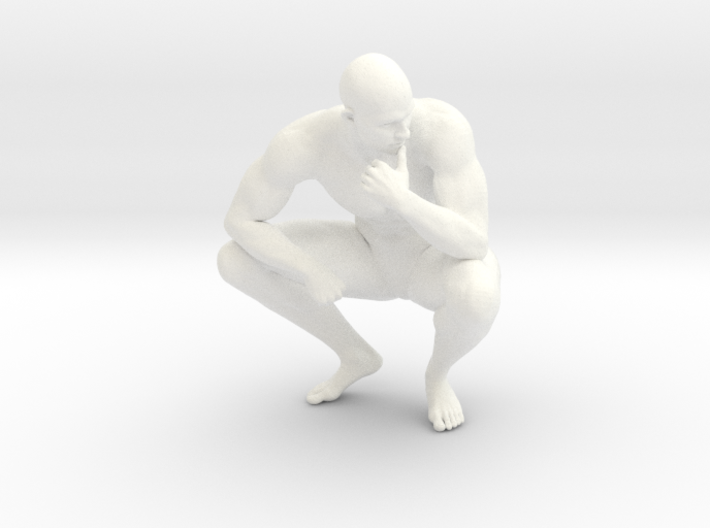 2016011-Strong man scale 1/10 3d printed