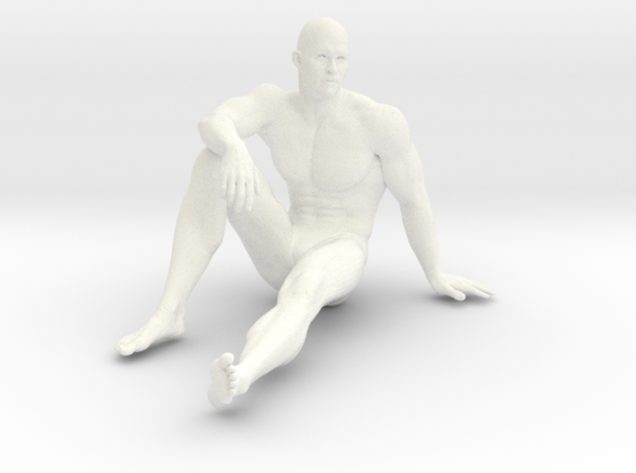 2016013-Strong man scale 1/10 3d printed