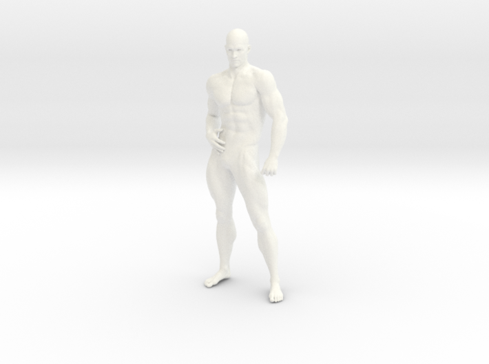 2016028-Strong man scale 1/10 3d printed