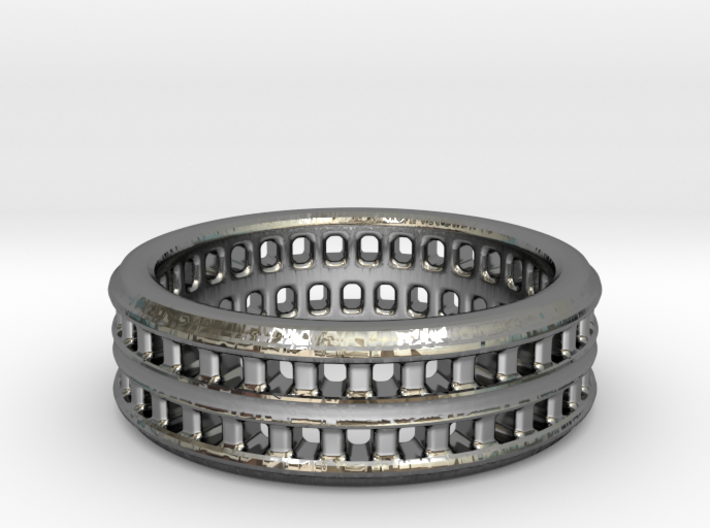 Colosseum ring 3d printed