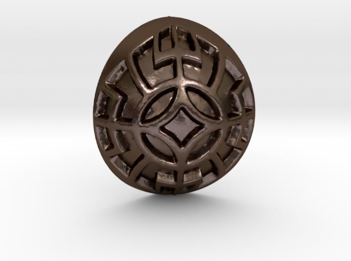 Norse Motif Pendant 3d printed