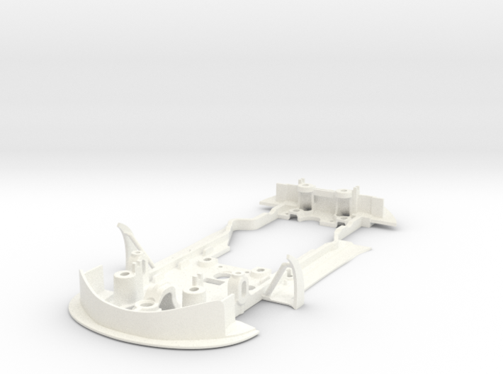 S09-ST1 Chassis for Scalextric McLaren GT3 STD/LMP 3d printed