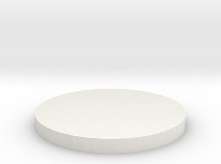 'N Scale' - Grain Dryer Foundation 3d printed