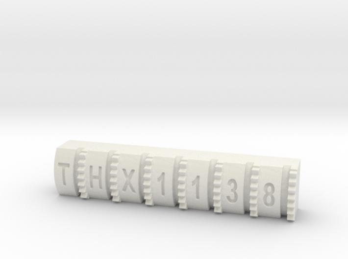 Hengstler Counter 7 Number Roller THX1138 3d printed
