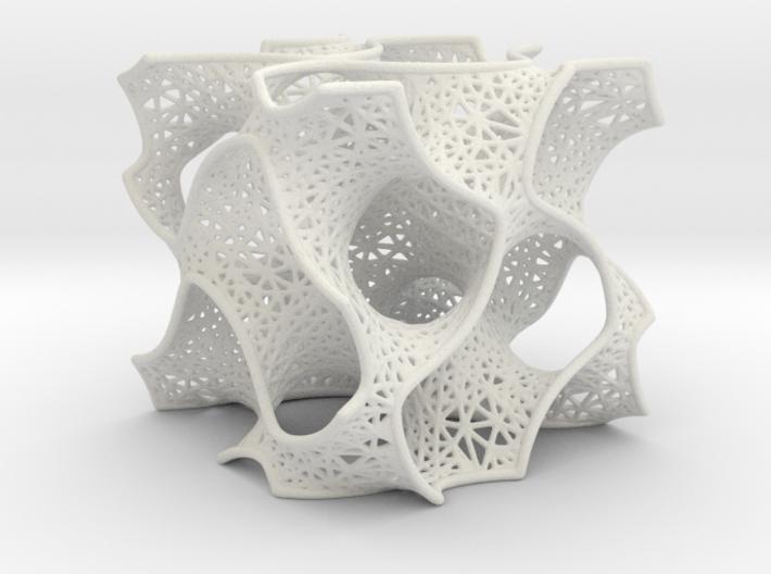 Gyroid Mesh Pattern 3d printed