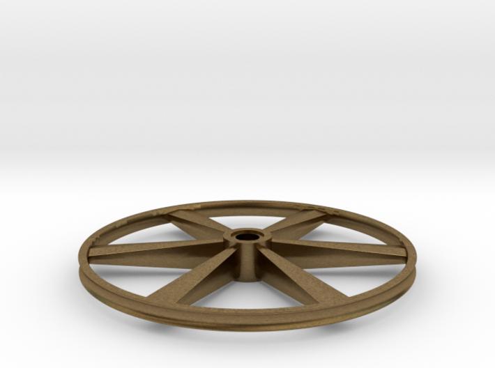 "CHAPP, 1:8 Scale, 24"" Bicycle Wheel, 120904 3d printed"