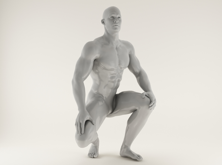 2016015-Strong man scale 1/10 3d printed