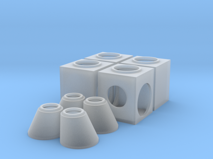 Ho Storm Sewer Jct Box Eccentric 3d printed