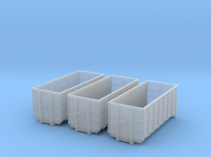 N Scale 3x ACTS Container #1 3d printed
