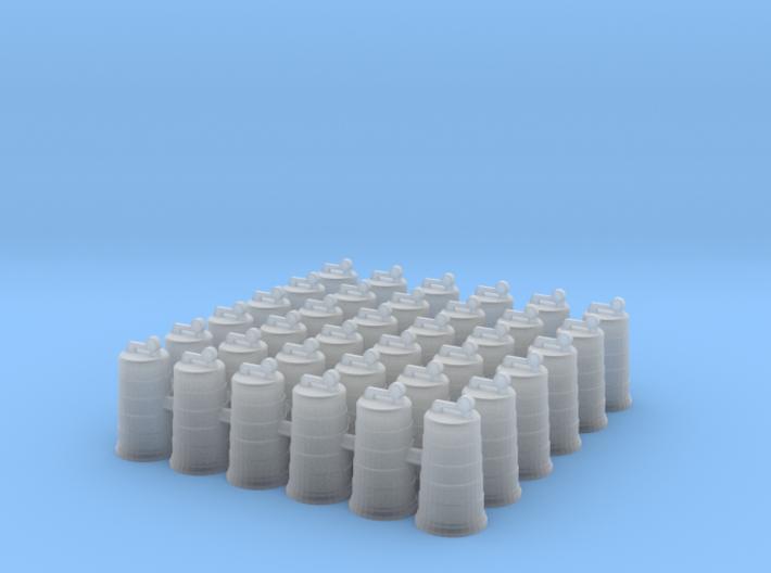 Traffic Drum .01. 1:64 Scale 3d printed