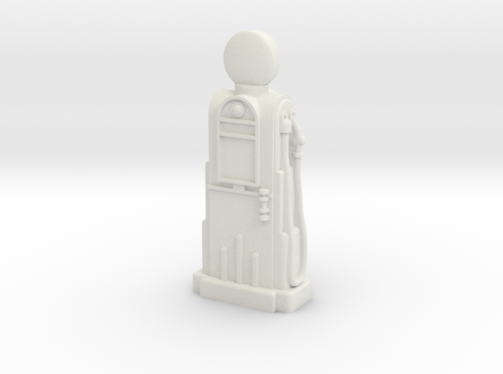 35mm Gauge - 1940's/1950's Petrol Pump 3d printed