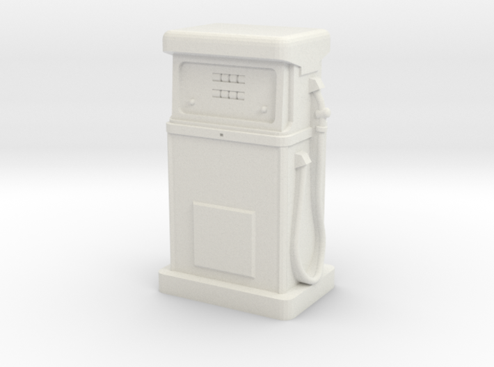 28/32mm Gauge - 1980's Petrol Pump 3d printed