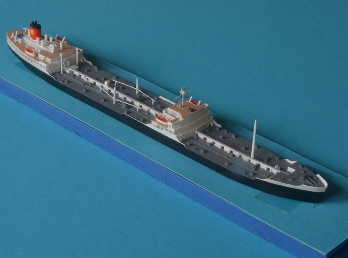 1:1250 Dutch Shell tanker Vasum 3d printed
