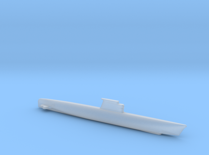 Zulu-class submarine, Full Hull, 1/1800 3d printed