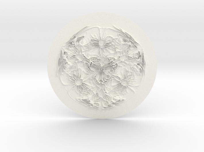 Cyma3D Glyph 'One' 3d printed