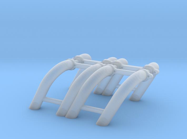1/43 SBC Zoomie Headers 3d printed