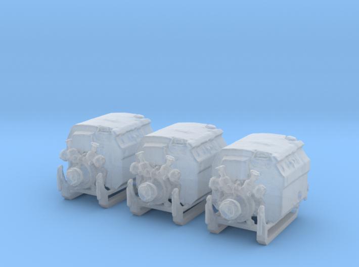 3x Tragkraftspritze 3d printed