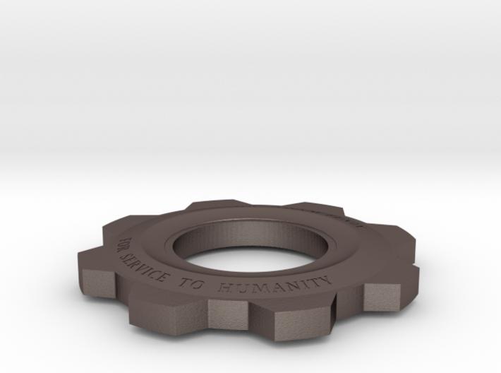 Gears Of War Cog Octus Service Medal 3d printed