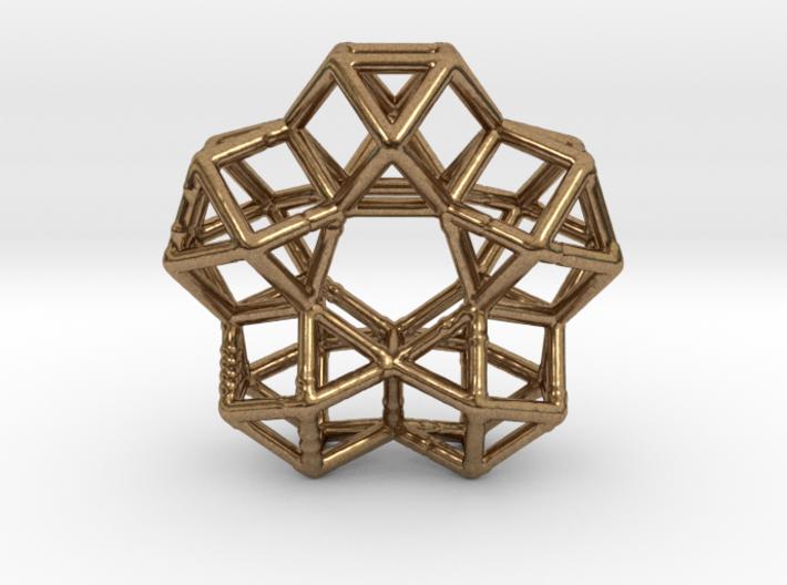 Vector Equilibrium Circle 40mm 5 cuboctahedrons 3d printed