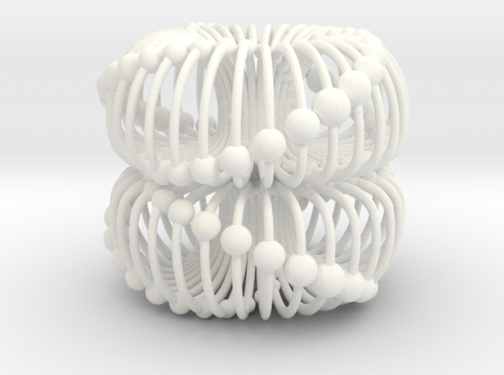Double Torus 40mm Electromagnetic Field 3d printed