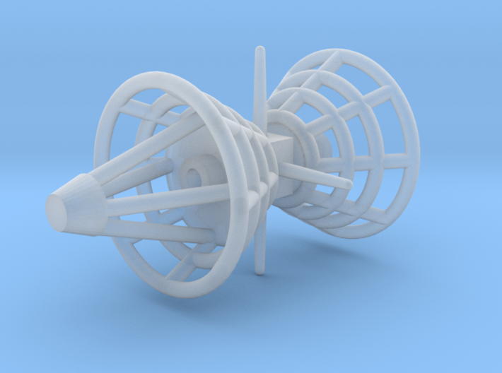 Antenna - Observatory Lower Row V0.2 (1/700) 3d printed