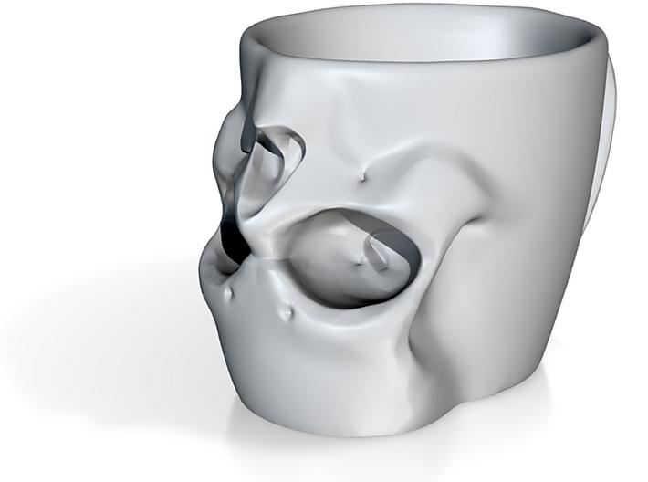 Skull Coffee Mug 250ml 3d printed