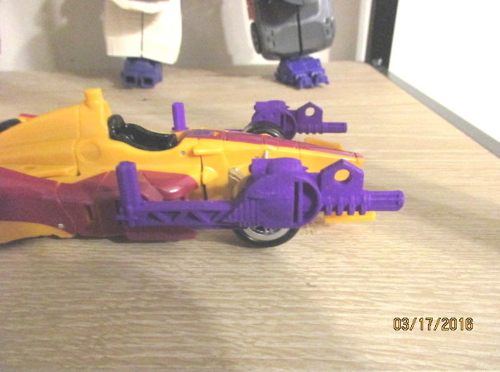 Menasor Brace Cannons 3d printed Swing forward for battle