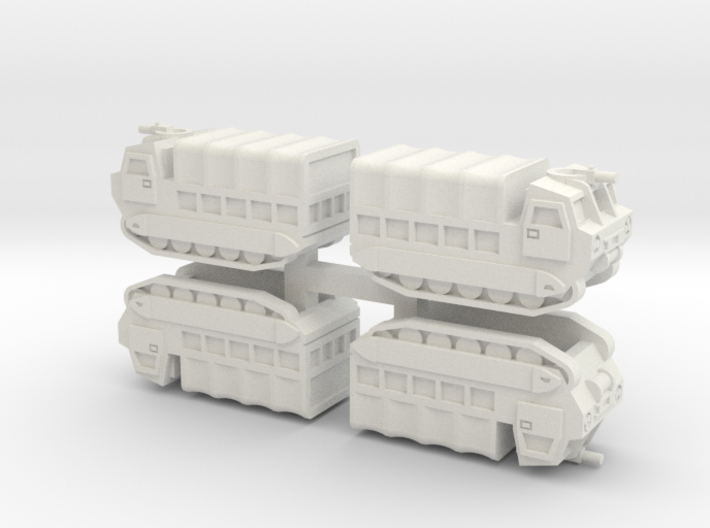 6mm M548 Tracked Carrier (4 Pcs) 3d printed