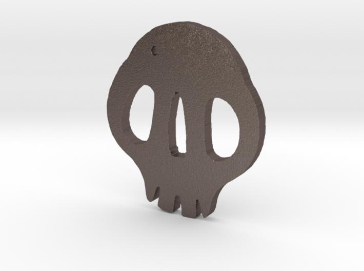 Skull Tsuba 3d printed