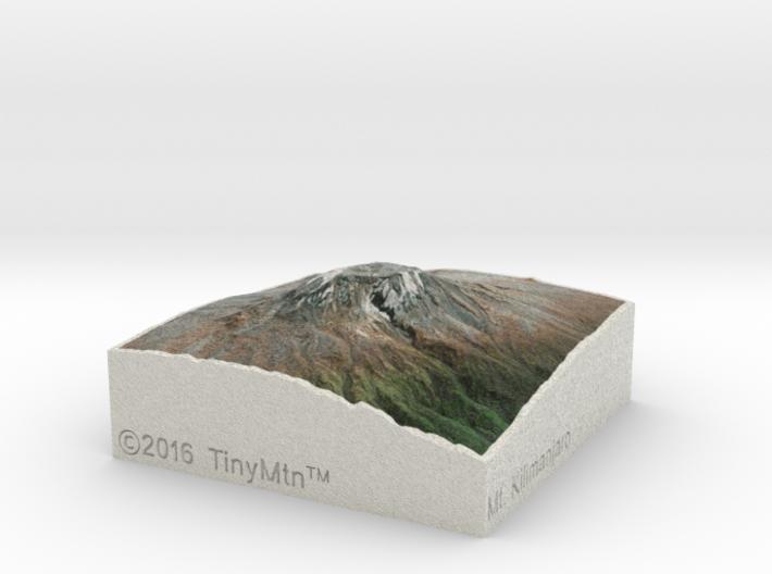 Kilimanjaro, Tanzania, 1:250000 Explorer 3d printed