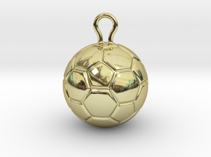 Soccer Ball 2016 3d printed