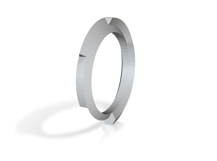 Trexagon Ring 3d printed