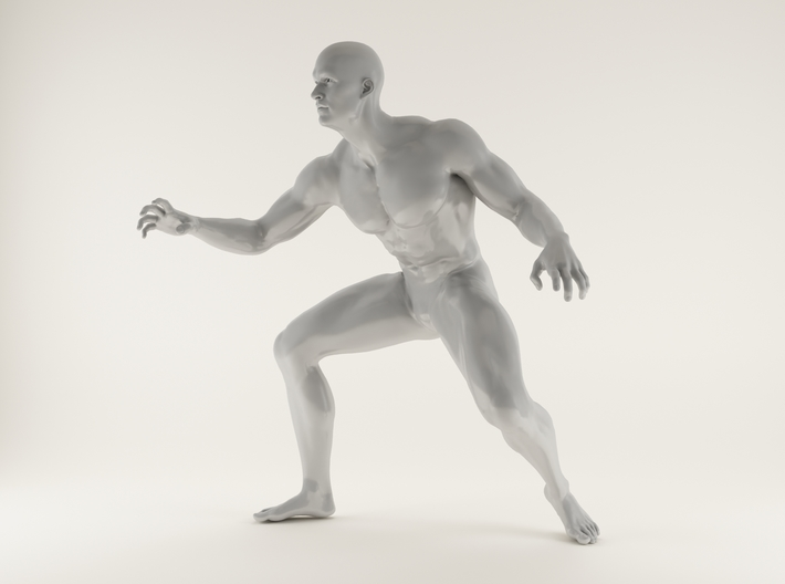 Strong Man scale 1/24 2016004 3d printed