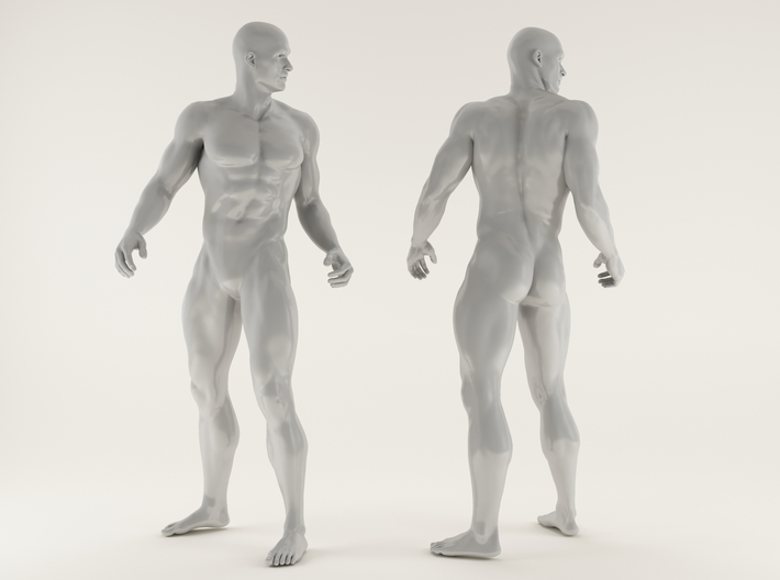Strong Man scale 1/24 2016027 3d printed