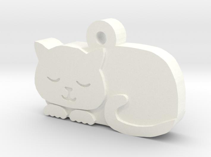 Cat Charm 3d printed
