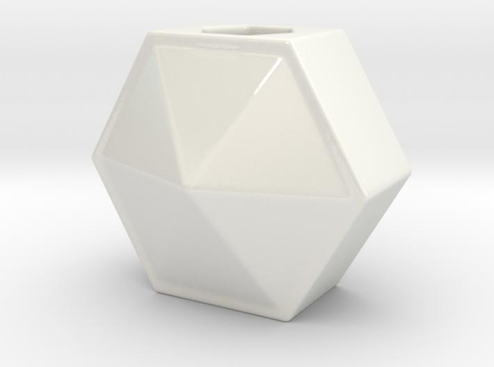 HONEYCOMB Miniature Flower Vase  3d printed