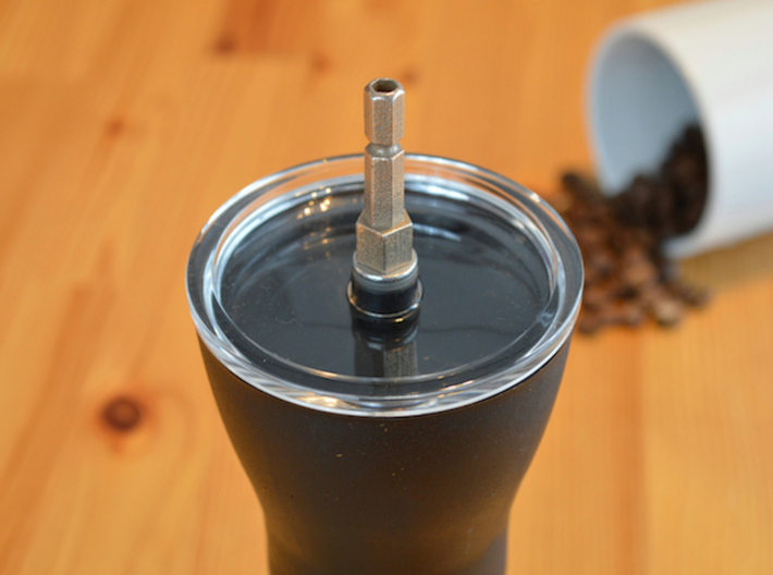 Coffee Grinder Bit For Drill Driver CDP-LRE 3d printed