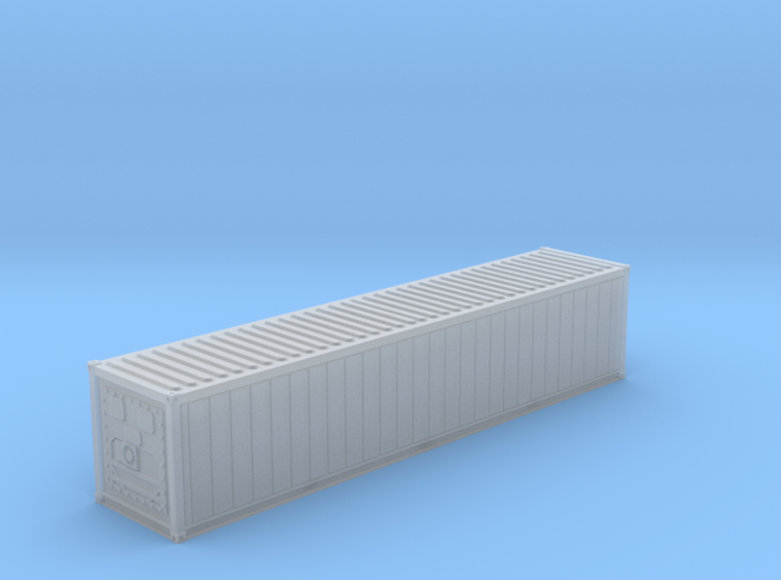 N Scale 40' Refrigerated Container 3d printed