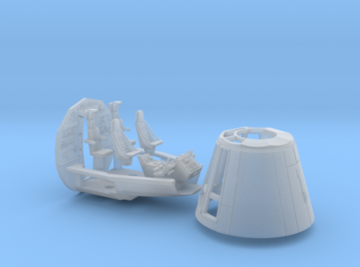 YT1300 BANDAY COMBO CABIN CONE COCKPIT BACKWAL 3d printed