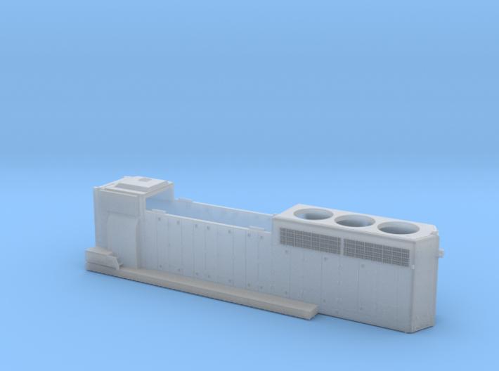 CN9400-9530 GP40-2LW Hood As-built 1/87.1 3d printed