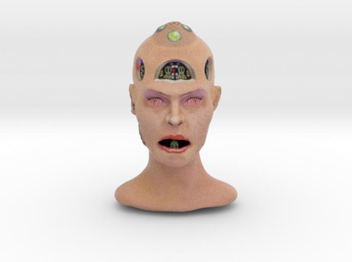 Alienhead 3d printed