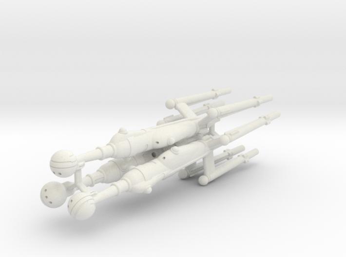 Invader Advanced Destroyer Trio 3d printed