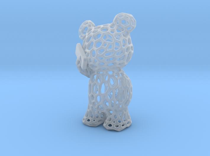 Phoneholic Bear Pendant - Big 3d printed