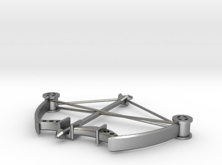 Compound Bow Pendant 3d printed