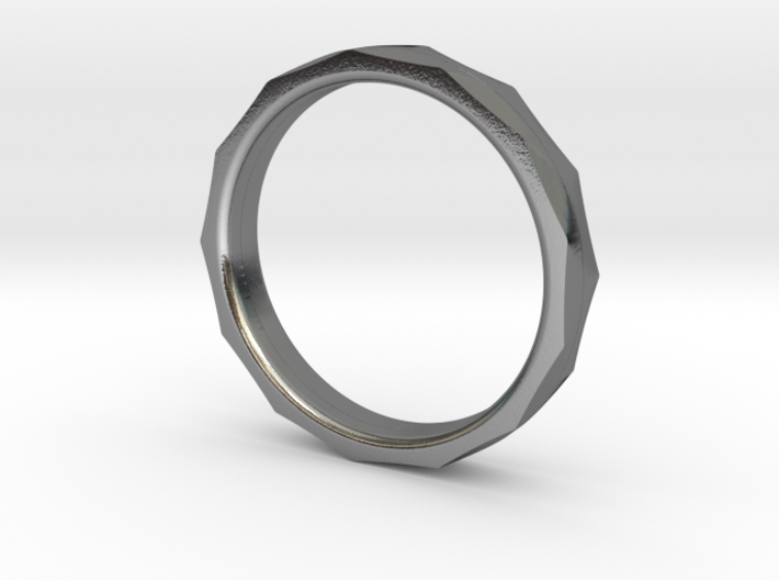Engineers Ring - Size 6 US 3d printed