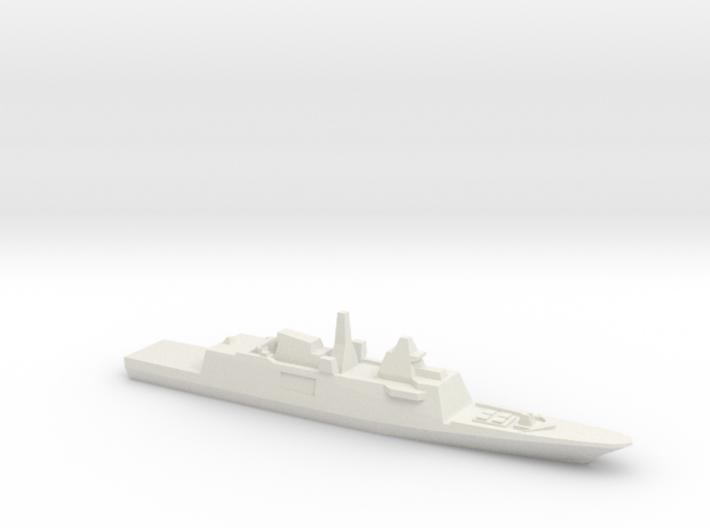 Aquitaine class FFG, 1/1800 3d printed