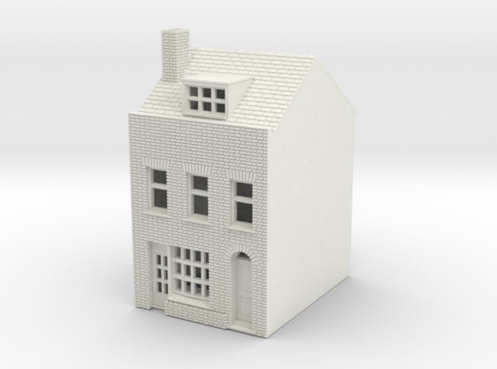 RHS-3 N Scale Rye High Street building 1:148 3d printed