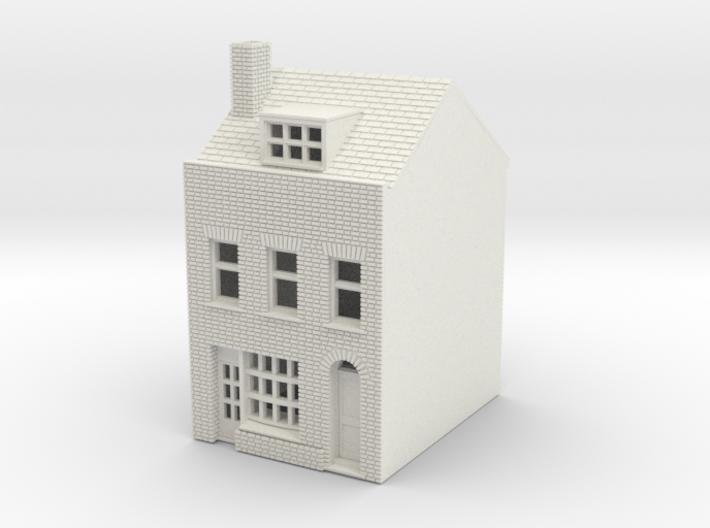 RHS-3 N Scale Rye High Street building 1:148 3d printed